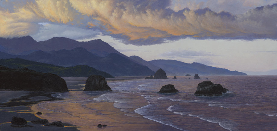 (c)2007 by Craig Erickson, Ecola Park, Crescent Beach, Cannon Beach, Haystock Rock