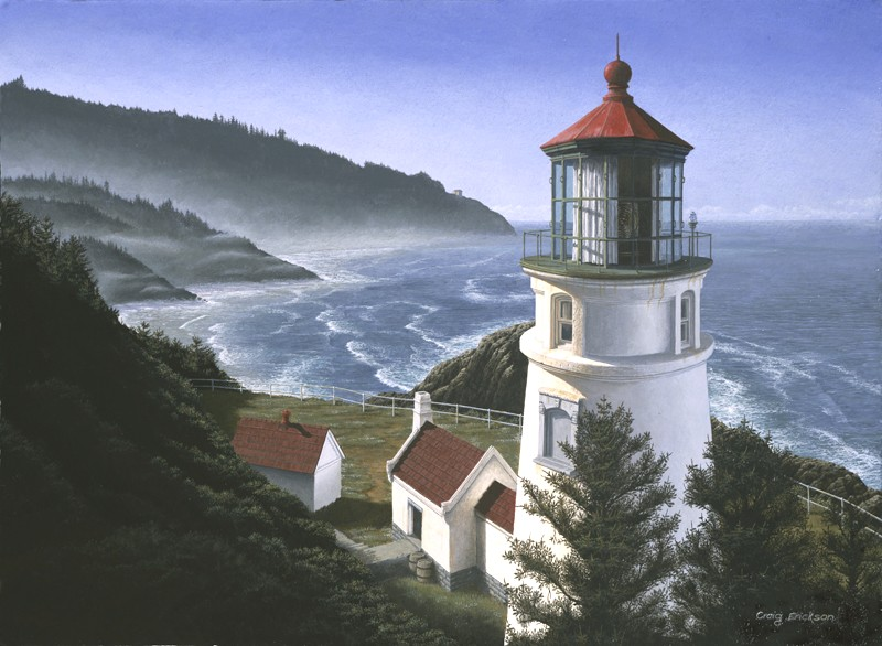 Heceta Head, Oregon